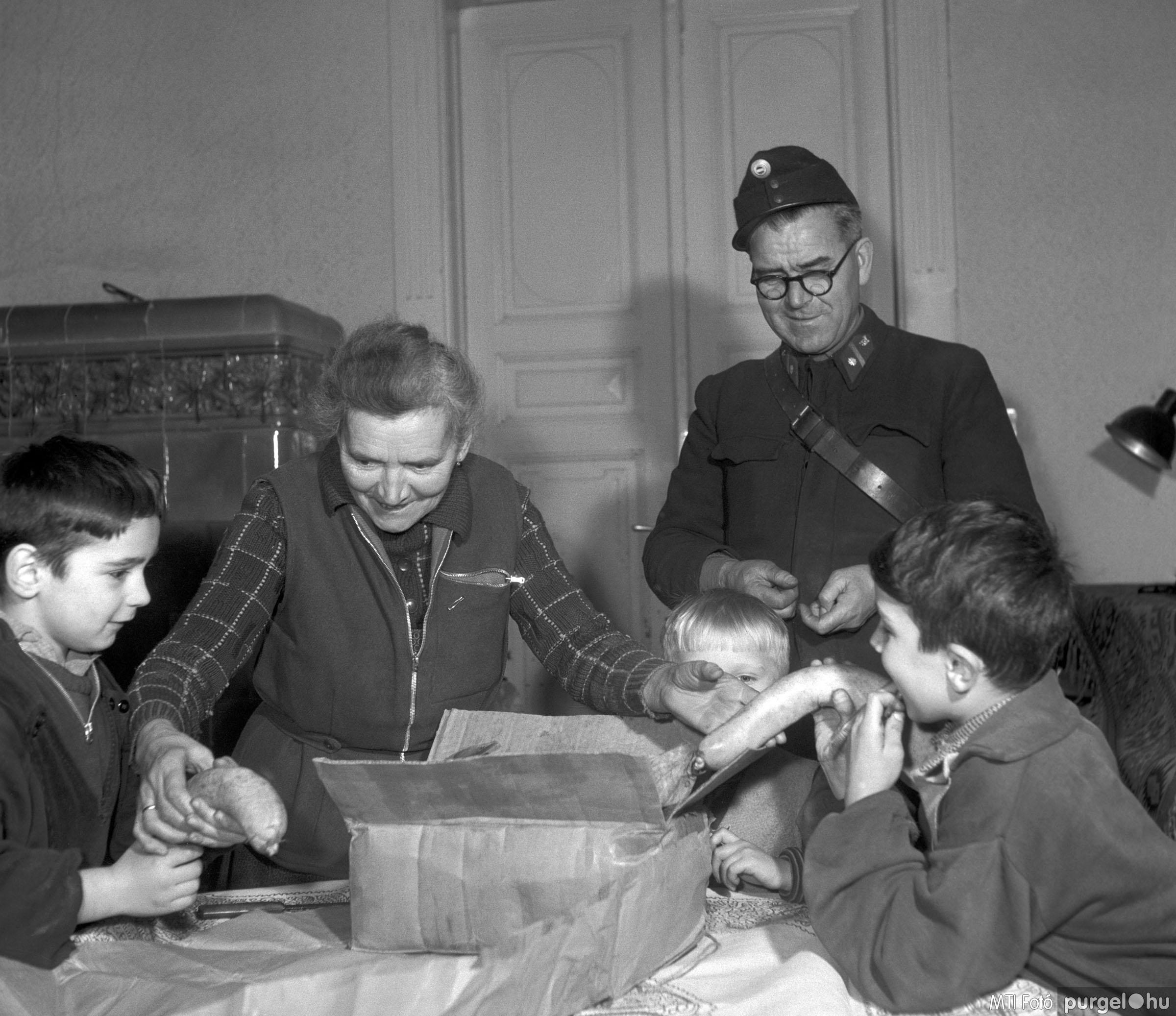 Disznótoros Karácsonyra II. Budapest, 1957. december 19.