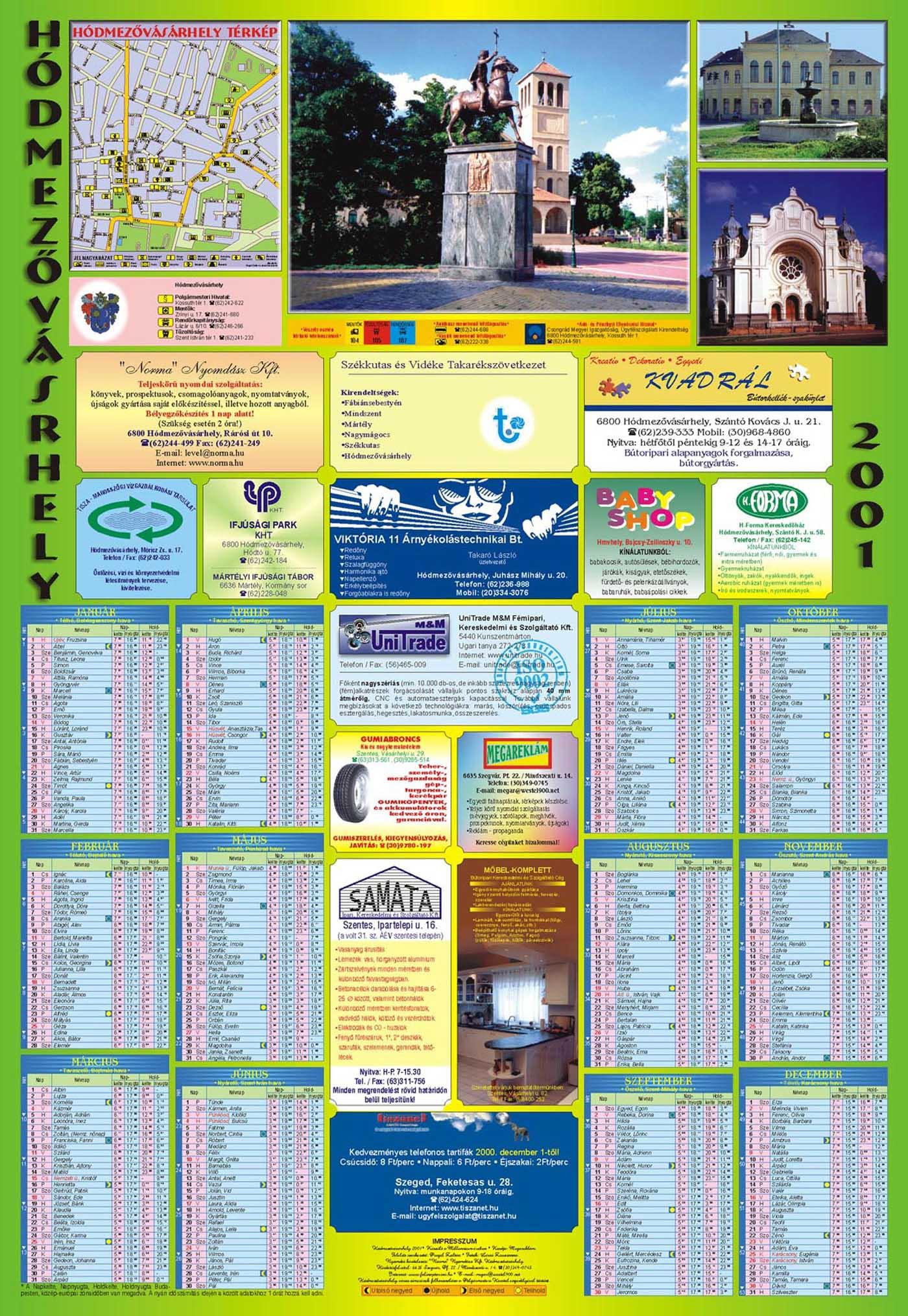 11-Hodmezovasarhely2001Falinaptar-2000
