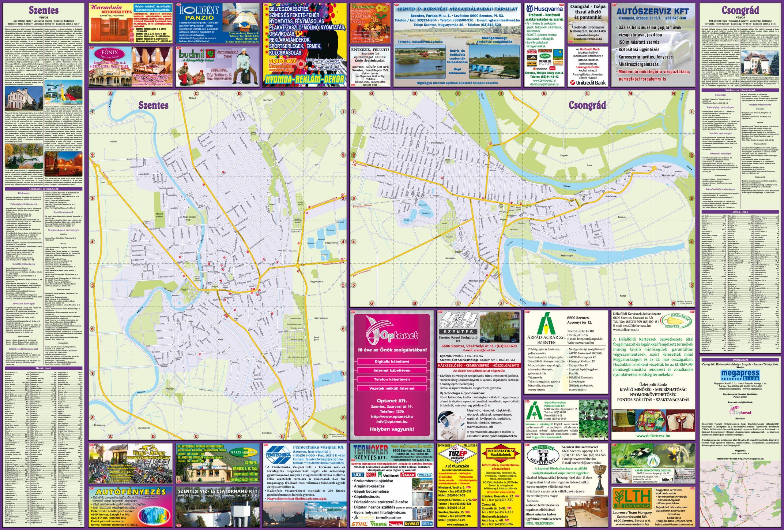 39-CsongradHodmezovasarhelySzegvarSzentesTerkepHajtogatott-2008-1.oldal