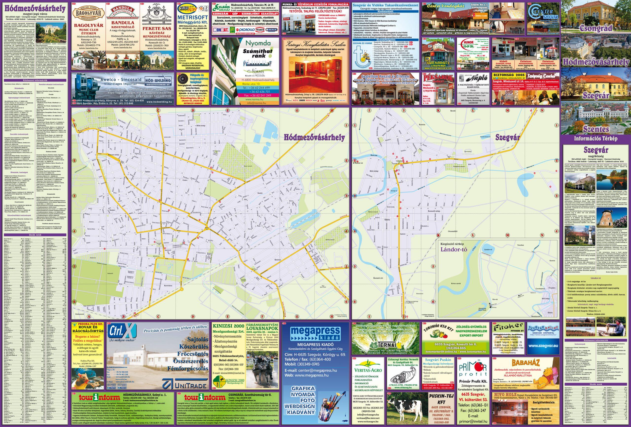39-CsongradHodmezovasarhelySzegvarSzentesTerkepHajtogatott-2008-2.oldal